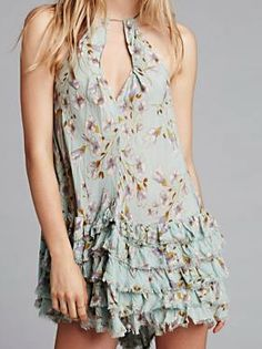 Another cute free people dress for Spring!