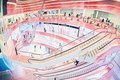 Planungen für ECE-Passage schreiten voran: Mehr als ein Dutzend Altmieter wird bleiben +++  »Loom«: Sporthaus und Rewe-Markt sollen einziehen