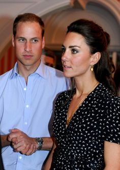 Prince William Photos: Prince William and Kate Middleton at a Youth Reception