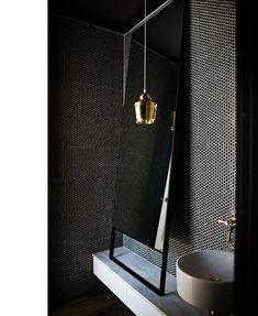 Bathroom detail from Armadale residence, designed by Wonder www.designofwonder.com.au. Photograph – Paul Barbera