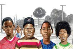 Dope Cartoons, Dope Cartoon Art, Black Cartoon, Cartoon Ideas, Black Love Art, Black Girl Art, Art Girl, Black Girls, Black Art Painting