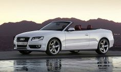 L'#Audi #A5, est une décapotable, à la ligne éblouissante, au  moteur puissant et à la fabrication soignée