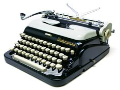 The Cadillac of type machines, the Underwood De Luxe Quiet Tab AB2685728 1956