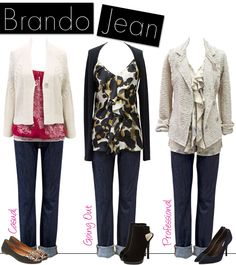 Classic Brando Jean - goes with everything! Relaxed fit = great look. Great comfort!