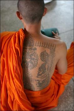Bliss on the Beach...: Thailand's sacred tattoos - sak yant - so much more than skin art...