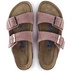 Arizona Soft Footbed Suede Rose Size 37 or 7