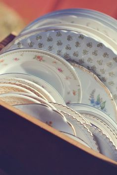 Thrift your dinnerware. Buying cheap plates and glasses at goodwill might be cheaper than renting! Plates can be white but mismatching which will look artsy :) Wedding Costs, Budget Wedding, Wedding Tips, Diy Wedding, Wedding Planning, Dream Wedding, Wedding Day, Wedding Stuff, Cheap Wedding Ideas