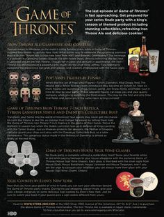 Game of Thrones Party Ideas (click to enlarge)