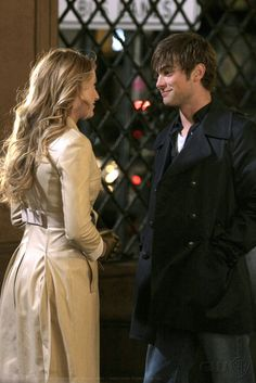 "Blake Lively as Serena van der Woodsen, and Chace Crawford as Nate Archibald ""The Blair Bitch Project"""