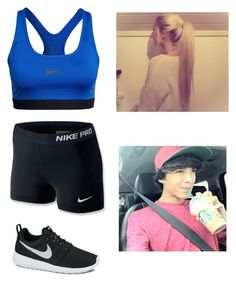 """""""Working out with Brent"""" by donut37 ❤ liked on Polyvore featuring NIKE"""