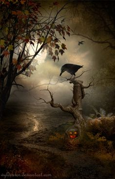 """Samhain (now commonly known as Halloween) is a Gaelic festival held on October 31–November 1. The Irish name Samhain is derived from Old Irish and means """"summer's end"""". It marked the end of the harvest, the end of the """"lighter half"""" of the year and beginning of the """"darker half""""."""