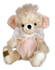 Merrythought Punkie Pearl limited edition collectors teddy bear-made in England My Teddy Bear, The Collector, Cuddling, Winnie The Pooh, England, Pearls, Cute, How To Make, Handmade