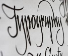 """Typography"" in Type design"