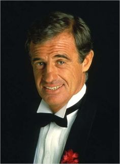 Jean-Paul Belmondo.  just a flower and a lot of charm!!