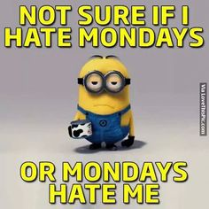 Not Sure If I Hate Mondays Or Mondays Hate Me Pictures, Photos, and Images for Facebook, Tumblr, Pinterest, and Twitter
