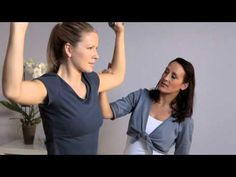 Fit Club On The Go - Shoulder Press | NIVEA Fit Club | On The Go Exercises | Arms and Upper Body