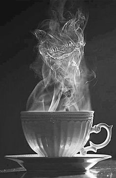 This would be an amazing tattoo!! just give the teacup a little makeover and its perfect