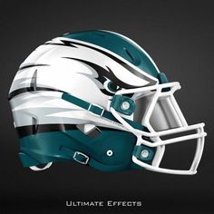 Check Out The Awesome Redesigned NFL Helmets of All 32 Teams - Jetlaggin Football Uniforms, Football Memes, Nfl Football, American Football, Sports Uniforms, European Football, Football Players, New Nfl Helmets, College Football Helmets