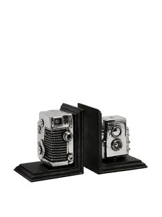 Expedition Vintage Camera Bookends