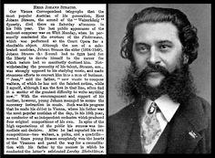 3rd June 1899 - Death of Johann Strauss