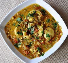 Dhaniya Egg Curry