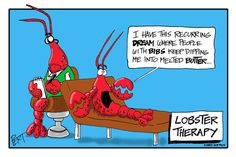 Image result for lobster therapy