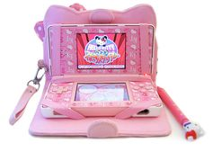Hello Kitty ds, she could stop stealing Evans lol