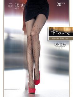 3b56f079d Fiore Janessa Patterned Tights at Stockings HQ Fiore Tights Shop