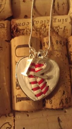 Each necklace is handmade with a piece of leather from a new real baseball or softball. Show your support for your favorite player with this customized necklace. baseball / world series party! Baseball Boys, Baseball Party, Baseball Season, Baseball Field, Baseball Stuff, Baseball Shirts, Baseball Birthday, Baseball Uniforms, Football