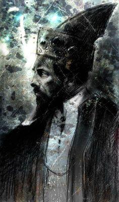 King Kerath, by Stephan Martiniere. #Uru