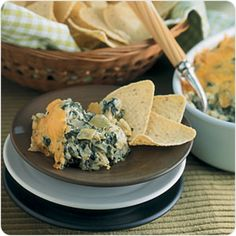 Hot Spinach Artichoke Dip | Better For You