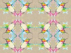 """barwna grafika z katalogu """"Zwierzęta""""- Koliber http://cottonbee.pl/tkaniny/zwierzeta/5383-koliber.html #cottonbee #wzory #koliber"""
