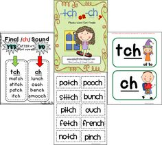 Worksheets List Of Words With Tch spelling using ch or tch from essential reading language skills and word sort