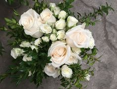 You can never go wrong with roses! Wedding Bouquets, Favorite Color, Jade, Whimsical, Floral Wreath, Neutral, Roses, Wreaths, Traditional