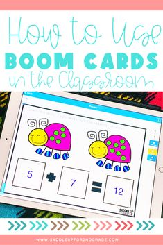 Wondering how to use Boom cards in the classroom and at home? Check out these tips and ideas for using Boom cards with your elementary students!