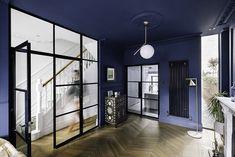 Living room with Critall screens Photography: Gautier Houba