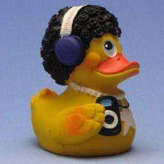 Quietscheente Disco Rubber Duck