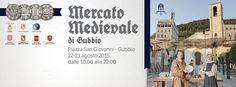 Italia Medievale: Mercato Medievale a Gubbio (PG)