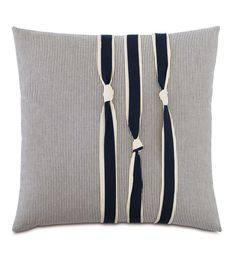 Hen Feathers Nautical Knots Down Throw Pillow Sewing Pillows, Diy Pillows, Accent Pillows, Throw Pillows, Pillow Ideas, Decorative Cushions, Scatter Cushions, Cushion Covers, Pillow Covers