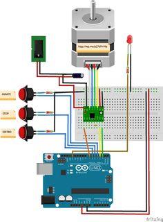 2-Phase 4 wire Micro//Nano photorépéteur moteur pour micro Robotics Arduino PIC framboise