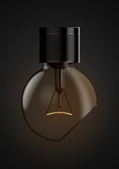 Designed by Twelvemonthly for their Reasonable Imperfection series, the Forty Five Bulb is an impressive concept we'd love to see become reality. Living Room Lighting, Home Lighting, Lighting Design, Id Design, Lamp Design, Room Lights, Wall Lights, Lampang, Room Lamp