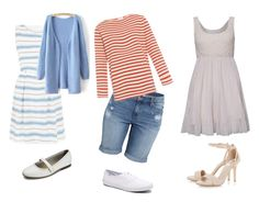 """Frances """"Baby"""" Houseman - Dirty Dancing by cettacon on Polyvore featuring moda, Tenki, Orcival, H&M and Keds"""