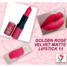 golden rose 11 lipstick velvet matte - Google Search