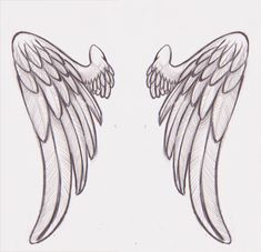 35 Best Angel Tattoo Template Images Angels Angel Wings Drawing