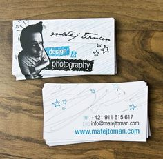 15+ Interesting Examples of Self Portrait business cards | Multy Shades