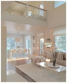 ✔ 55 best house interior design to transfrom your house 38 Related Dream House Interior, Luxury Homes Interior, Dream Home Design, Modern House Design, Home Interior Design, Interior Styling, Clean Living Rooms, Home Living Room, Living Room Designs