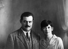 Portrait of Ernest Hemingway and Pauline Pfeiffer, Paris. Ernest Hemingway Collection. John F. Kennedy Presidential Library and Museum, Boston.