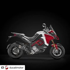 The new Multistrada 1260 Pikes Peak attains the highest possible precision and top sport-riding performance. The king of every mountain. #Ducati #DucatiPremiere #Ducati2018 #DucatiBikes #Multistrada1260 #Multistrada #PikesPeak smcbikes.com 01142525454 http://ift.tt/2y7lAbS