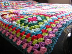 Check out this item in my Etsy shop https://www.etsy.com/uk/listing/175505026/large-crochet-blanket-granny-squares-64