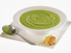 Pea, Lettuce and Fennel Soup Recipe : Giada De Laurentiis :  Love love love this soup! I make this about twice a month.